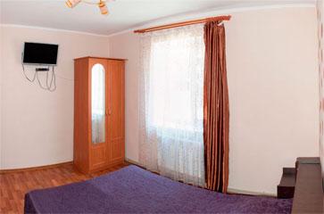 Комфорт двухместный, гостиница Песчаное Летом