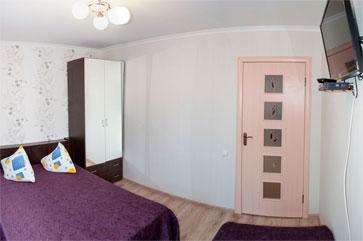 Комфорт трехместный, гостиница Песчаное Летом