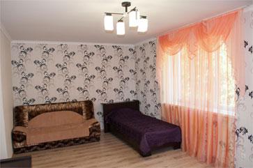 Комфорт четырехместный, гостиница Песчаное Летом