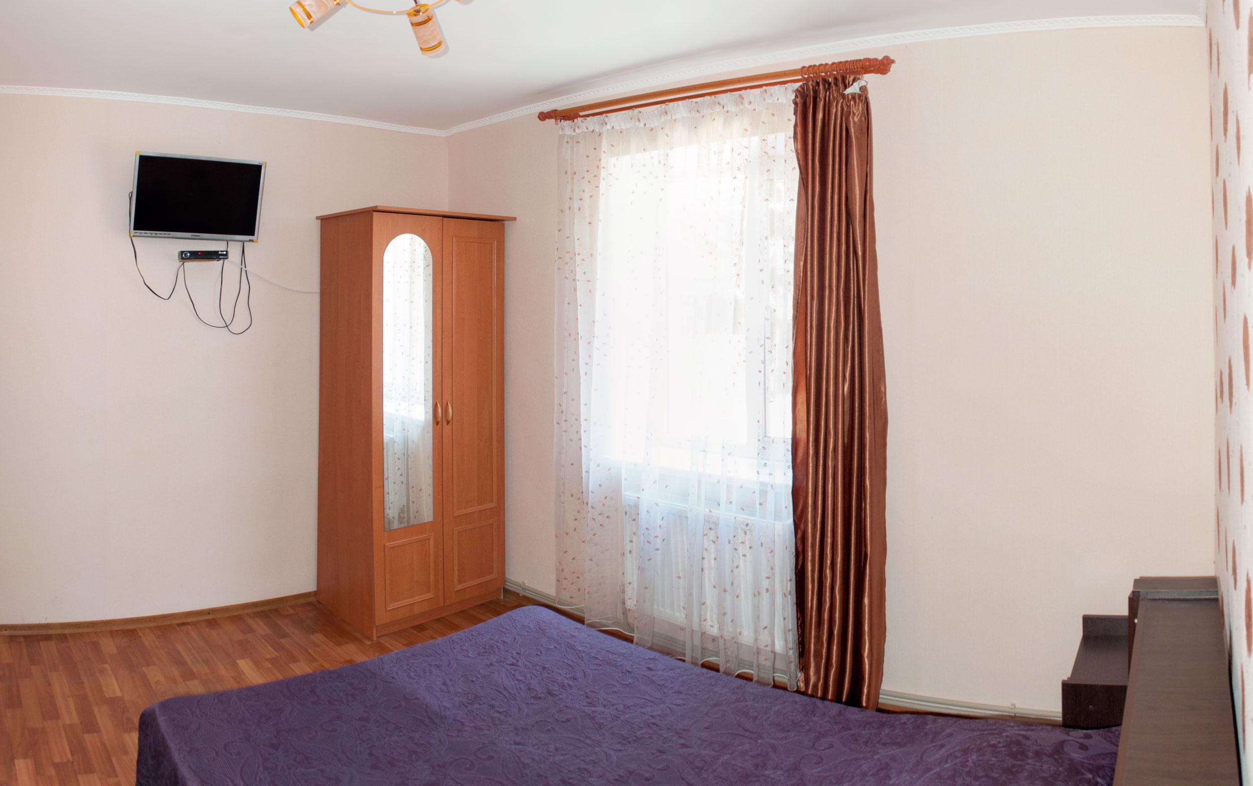 Двухместный номер Комфорт в гостинице Песчаное Летом