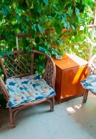 Балкон в гостинице Песчаное Летом
