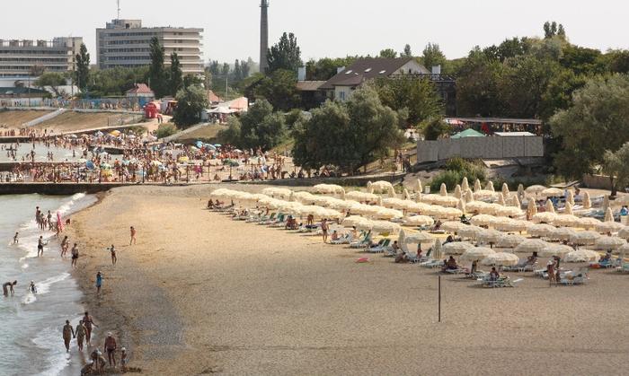 Санаторий Черноморец Пляж