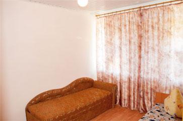 Эконом трехместный, гостиница Песчаное Летом